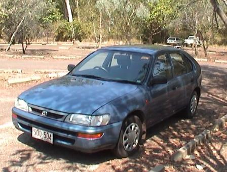 Kakadu with Speed Screenshot Toyota Corolla